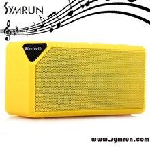 Symrun Mini Portable Bluetooth X3 Tf Audio Fm Radio Boombox Mp3 Wireless Speaker speaker wireless bluetooth speakers fm