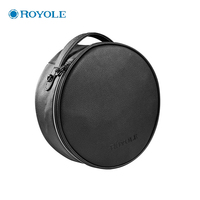 CLAITE Royole Moon VR Glasses All In One Portable Leather Handbag Custom Travel Carry Storage Case