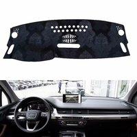 For Audi Q7 2016 2019 Flannel Dashmats Dashboard Covers Dash Pads Car Mat Carpet Sun Shade 2017 2018
