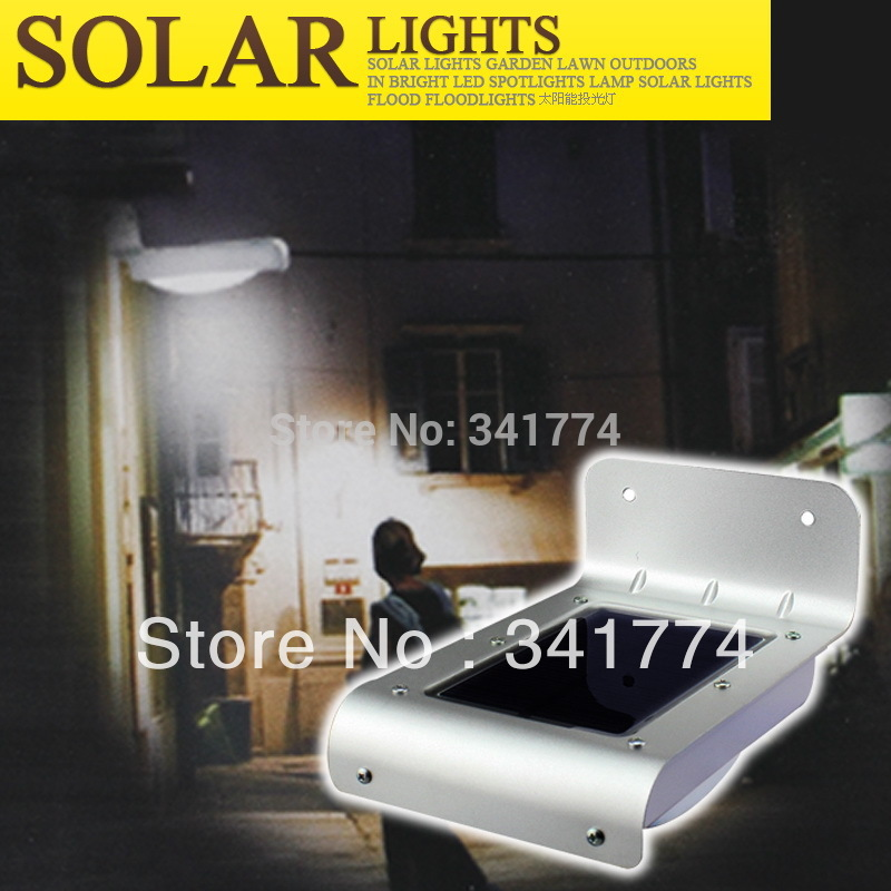 LED Luz De Solar Panel Energy Human Motion Sensor Porch Path Light Hyundai Solaris Sconce Step Wall Lamp for Garden Outdoor