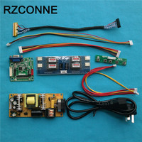 Universal Driver Board Power Supply Board Double 8bit LVDS Cable LED Inverter For 14 22 LCD