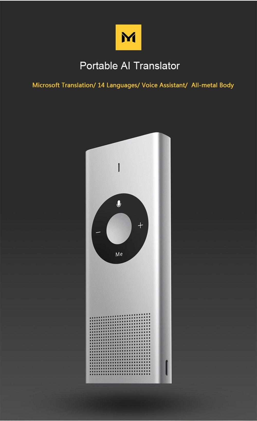 Xiaomi Mijia AI Voice Translator Interpreter