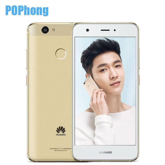 Original Huawei Nova 4GB RAM 64GB ROM Snapdragon 625 Octa Core Smart Phone 5.0 inch Android 6.0 Dual SIM 16.0MP