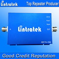 Lintratek 65dbi GSM 850Mhz Mobile Signal Booster UMTS 850MHz Cellular Amplifier CDMA Cell Phone Signal Booster 850 Repeater S20