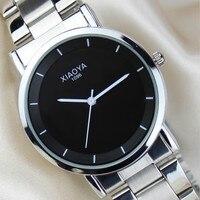 Wrist Watches Brand Waterproof Stainless Steel Quartz Watch Sliver a Bracelet Pair Watch Female Male Clock reloj mujer
