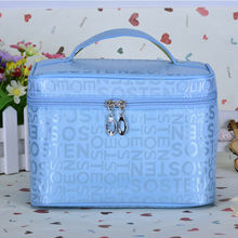 US $0.58 16% OFF|Fashion Women Letter Multifunction Portable Travel Cosmetic Makeup Bag Wash Toiletry Organizer Case Large Capacity Casual Totes-in Cosmetic Bags & Cases from Luggage & Bags on AliExpress