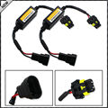 (2) 9006 9005 HB4 HB3 LED Headlight Canbus Error Free Anti Flicker Resistor Canceller Decoders (Plug-In-Play)
