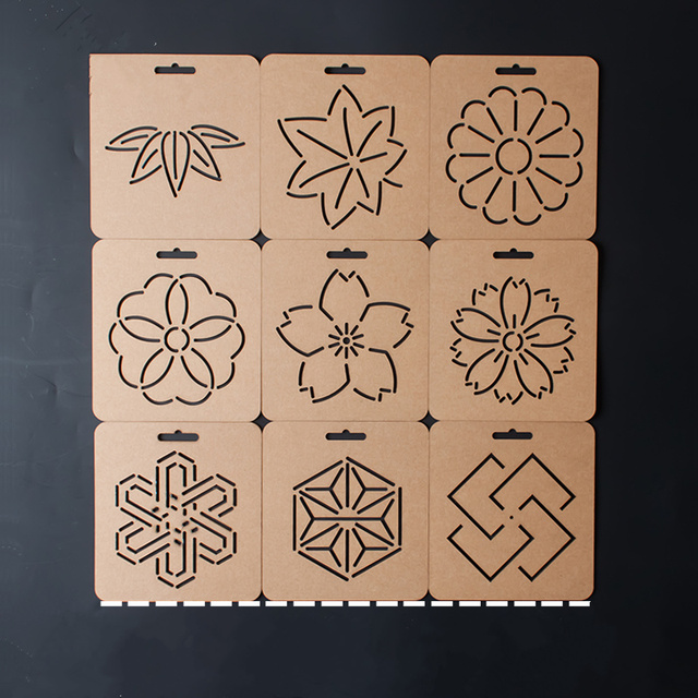 The New Diy Coin Floral Pattern Acrylic Quilt Template Patchwork