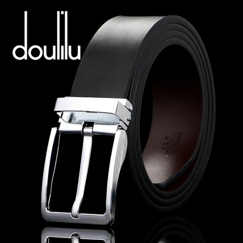 2018 Fashion Summer Design Men's Belts High Quality Cow Genuine Leather Vintage Pin Buckles Ceinture Casual Male Straps Luxury