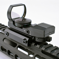 Suitable for 11mm dovetail rail hunting hunting four point reflection 1x red green dot sight