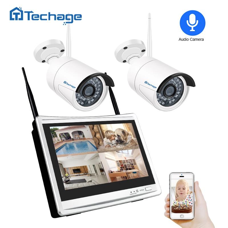 Techage 4CH 1080P 12\