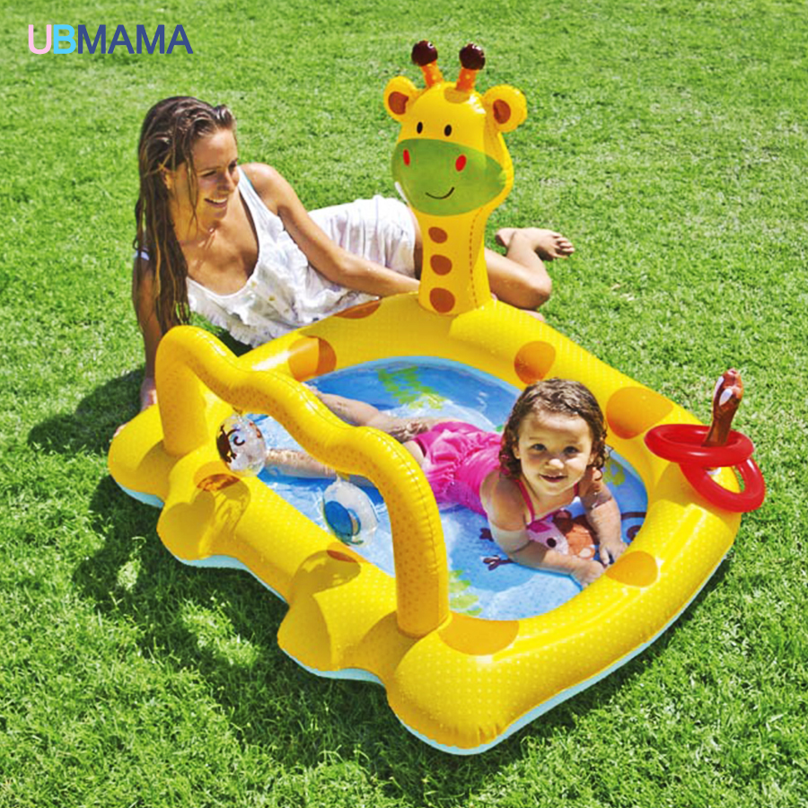 Multi-function Outdoor Inflatable Swimming Water Pool Home Use Children Cartoon Game Playground Piscina Bebe Zwembad A023 home use baby inflatable swimming water pool portable outdoor children bathtub piscina bebe zwembad pvc waterproof bath tub