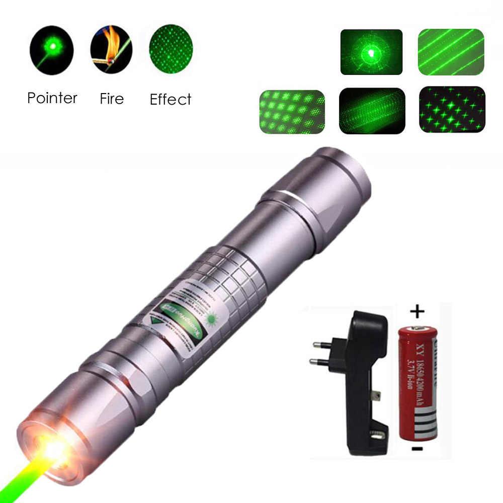 גבוהה כוח לייזר מצביע ציד ירוק לייזר טקטי לייזר sight עט 303 שריפת laserpen עוצמה laserpointer
