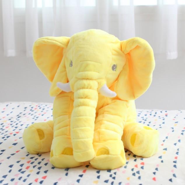 Elephant Baby Toy Plush Cute Stuffed Animal Soft Kids Doll Jumbo Big Pillow Gift