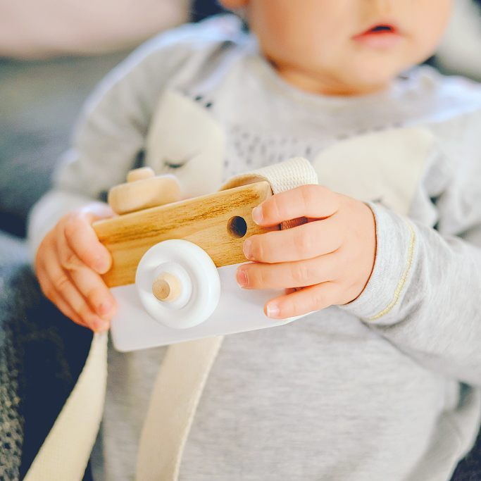 Color Cute Wood Camera Toys  Natural Toy Children Fashion Clothing Accessory Toys Safe Birthday Christmas Holiday Gifts For Baby