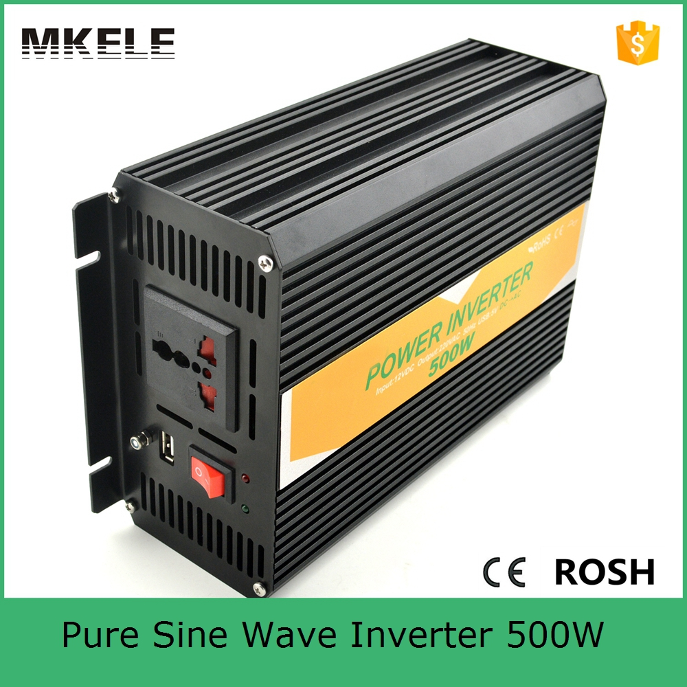 ФОТО MKP500-121B low price 12vdc 110vac 500W pure sine wave type home use power inverter,home backup power inverter for home