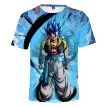 2019 Summer Mens Clothing Short Sleeve Dragon Ball t shirt Men/Women/Children goku Super Saiyan tshirt Tops Men Tshirt