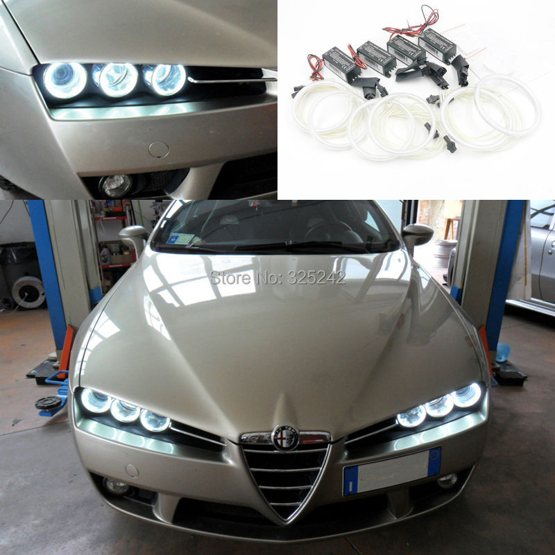 For Alfa Romeo 159 2005 2006 2007 2008 2009 2010 2011 Excellent CCFL Angel Eyes kit
