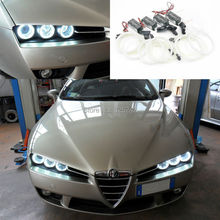 Para Alfa Romeo 159 2005 2006 2007 2008 2009 2010 2011 Excelente CCFL Angel Eyes kit Anillo Del Halo Ultrabright iluminación
