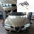 Para Alfa Romeo 159 2005 2006 2007 2008 2009 2010 2011 Excelente Ultrabright iluminação CCFL Angel Eyes kit de Halo Anel