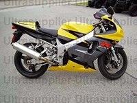 Yellow Black Grey Complete Injection Fairing for 2000 2002 Suzuki GSXR 1000 2001