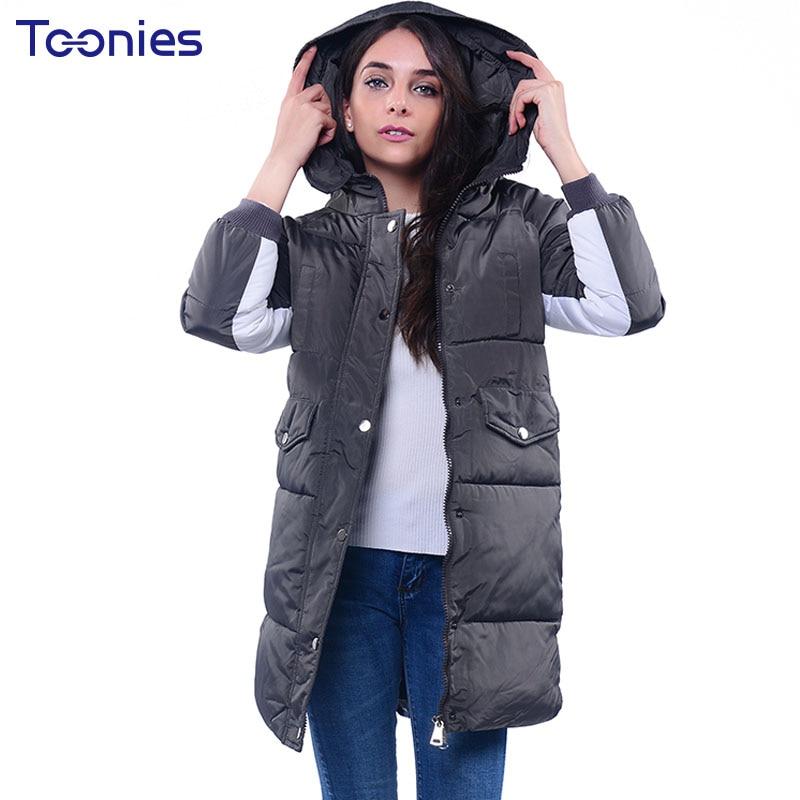Thickening Warm Coat 2017 Winter Parka Jacket Women Cotton Padded Coats Outwear Long Parkas for Women Female Wadded Jackets