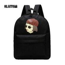 Корея ulzzang пара рюкзак Новинка 2017 года Леон по-детски Harajuku на ремне, школьный мультфильм прилив мешок SC015