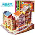 3d Puzzle, Puzzle, Toys 3d Puzzles Paper And Building All Kinds Of Fairy Tales Free Shipping