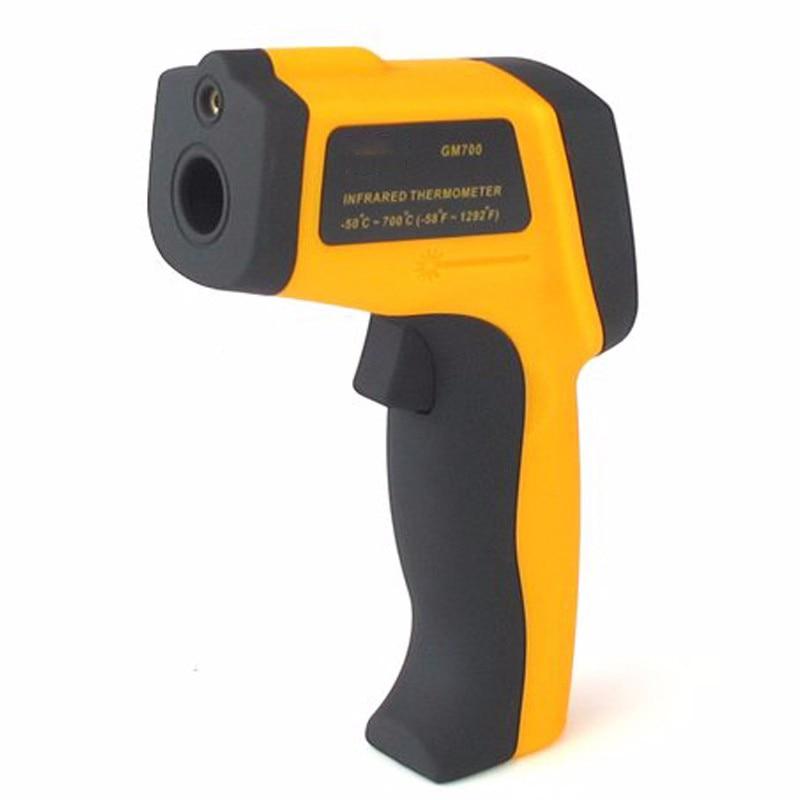 ФОТО GM700 portable infrared temperature thermometer IR Laser Digital gun POINT Test Equipment