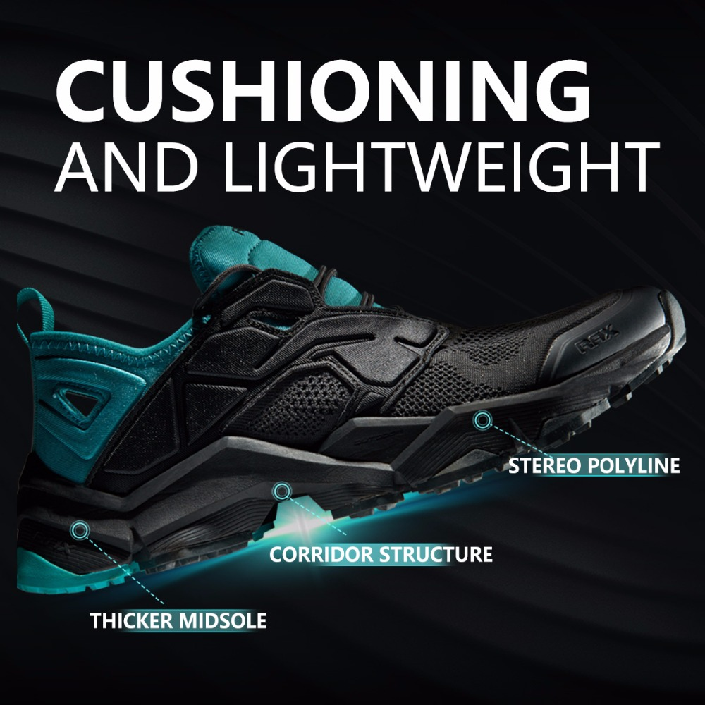 RAX Summer Hiking Shoes Men Breathable Outdoor Sneakers Antiskid Trail Mountain Shoes Women Sports Shoes Durable Climbing Shoes