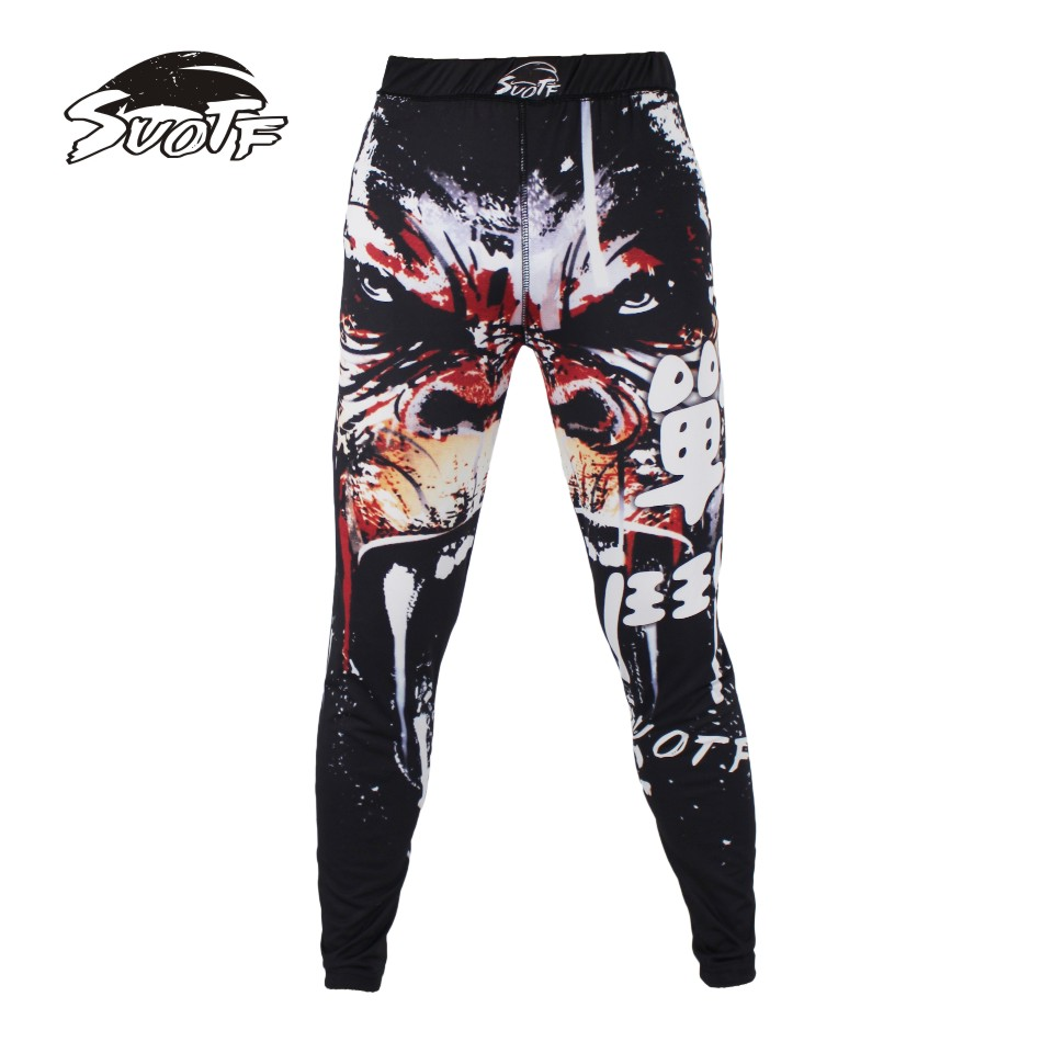 SUOTF Gorilla Warrior Fitness Tight Boxing Sports Fighting Squares Special Elastic Boxing Pants MMA fight shorts muaythai shorts ...