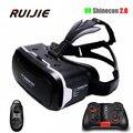 Caixa shinecon 2.0 capacete óculos de realidade virtual vr vr 3.0 óculos 3d headset cartão para 4.7-6.0 polegada android ios de smartphones