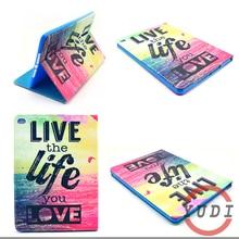 For iPad Air 2 Cover Fashion Leather Protective Stand Case For ipad air2 For ipad 6 A1566 A1567 Tablet Accessories Capa Para