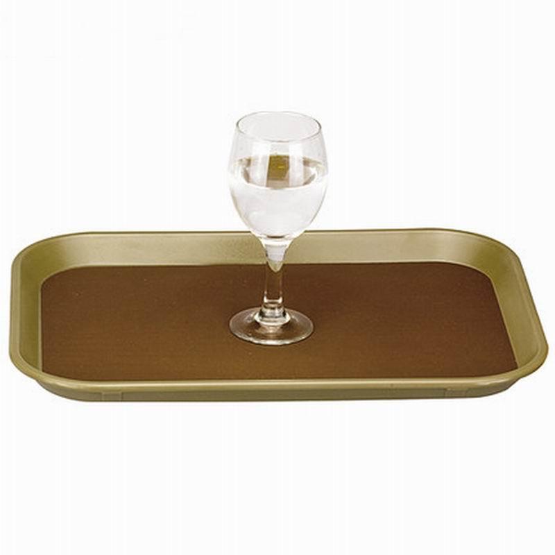 Plastic Non-slip Towel Tray New Design Acrylic Tray Rectangle Plastic Tea Tray Food Storage Plate YAC018