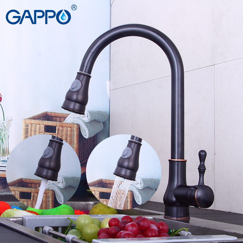 GAPPO kitchen faucet mixer sink waterfall faucet deck mounted sink kitchen water tap mixer kitchen drinking water faucets