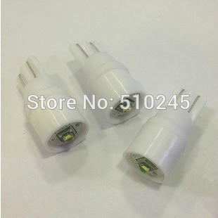 30X T10 W5W194 168 nonpolar 3W Canbus LED High Power 1SMD Super Bright light Bulbs 12V Free Shipping