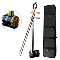 New Arrival 2 Strings Chinese Traditional Erhu Violin Fiddle Urheen Musical Instrument With Bow