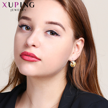 Xuping Fashion Elegant Earrings High Quality Crystals from Swarovski Charm for Women Valentine's Day Jewelry Gift M51-20111