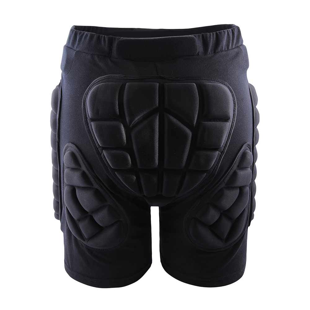 Wosawe Protective Motorcycle Short Soft Pad Ski Snowboard Pants Protection Gear Hockey Body Armor Motocross Protected Shorts Removing Obstruction