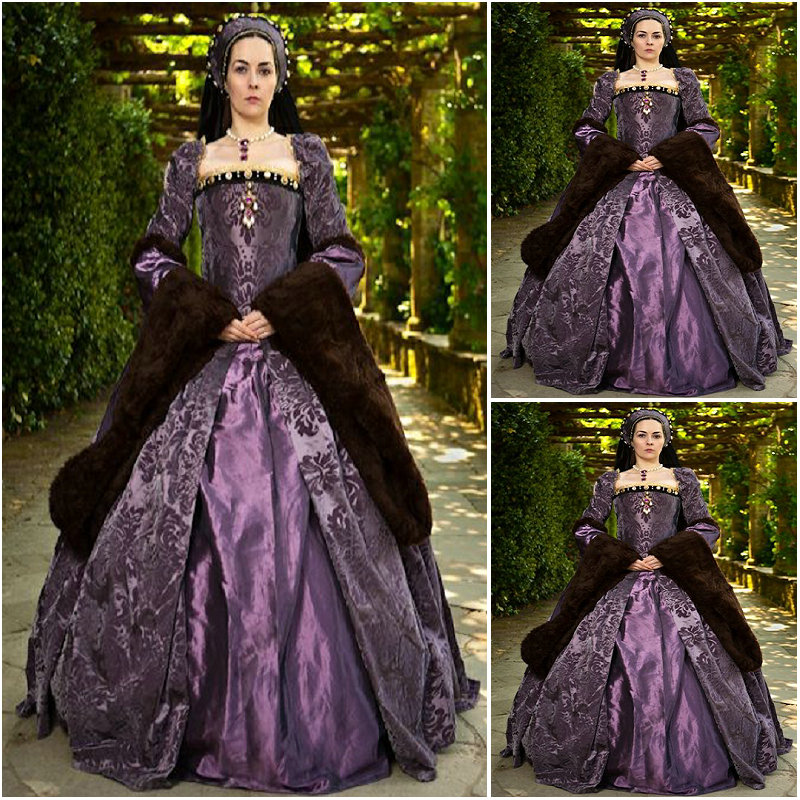 history customer made luxs purple vintage costumes. Black Bedroom Furniture Sets. Home Design Ideas