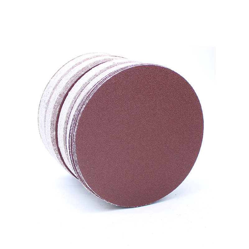 100pcs 5inches Round Sandpaper Disc Polishing Sheet 60#-1000# Grits