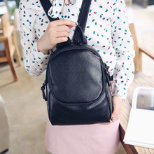 2016 Fashion Backpack School Bags For Teenagers Boys girls Korean style Black students Travel Shoulder Top Handle Bag bolsa
