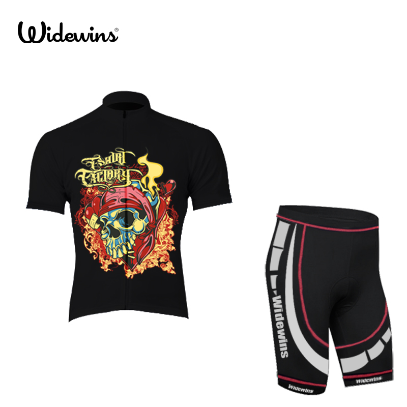 NEW Skeleton Bone summer men's Team cycling jerseys short sleeved top Cycling clothing de road bike clothes Bicycle wear 5023