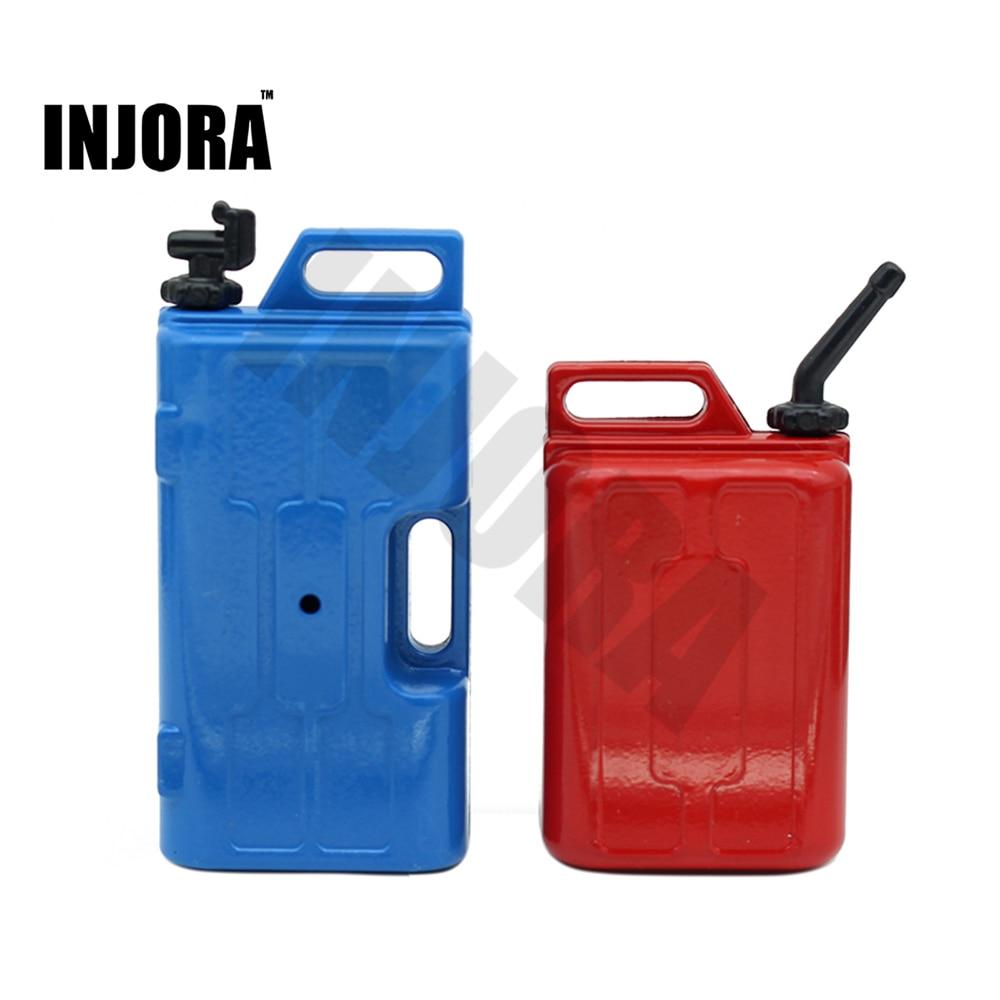 1 Set RC Car Mini Fuel Tank  & Water Jug Decoration Tools For 1:10 RC Rock Crawler Axial SCX10 Wraith D90 Traxxas TRX-4
