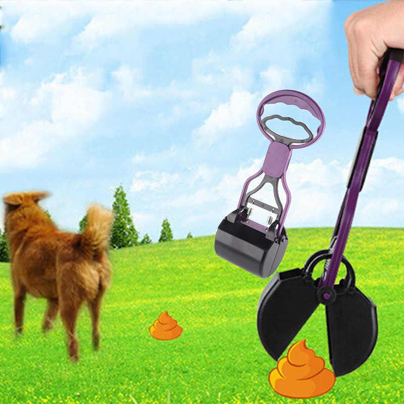 2017 perro gato residuos pooper scooper poop scoop mierda limpiar limpiador productos para mascotas accesorios para herramientas de limpieza para perros, gatos, caca