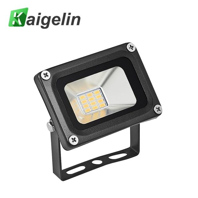 Outdoor Lighting Spotlights For Home Mini Microscope: 10pcs 12V 10W LED Mini Flood Light Waterproof Landscape