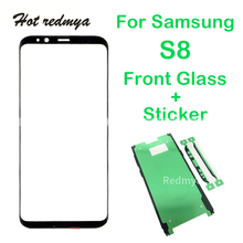 """Get more info on the s8 front glass For Samsung Galaxy S8 G950 5.8"""" LCD touch screen Front Outer Glass Lens Touch Panel Replace Parts replacment"""