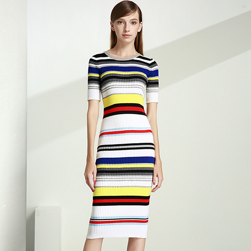 Эластичные ткани платья