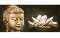 5D DIY Diamond Painting Buddha Resin Round Mosaic Diamond Embroidery Buddha Icon Needlework Pattern Decorative Paintings