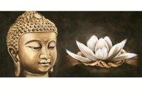 5D DIY Diamond Painting Buddha Resin Round Mosaic Diamond Embroidery Buddha Icon Needlework Pattern Decorative Paintings